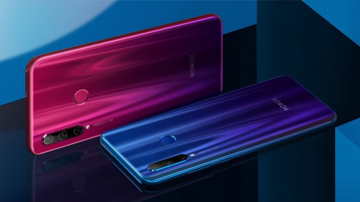 Honor 20i gets leaked official images - NotebookCheck net News