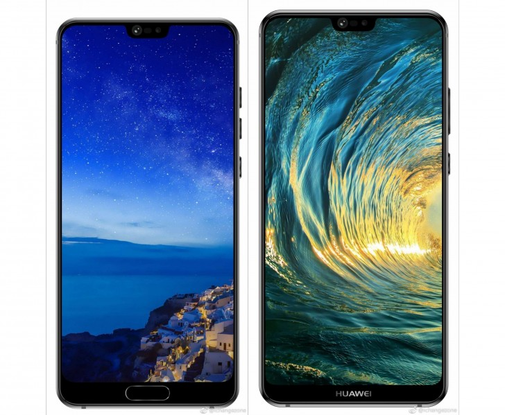 Huawei P20 and P20 Plus press renders. (Source: The Android Soul)