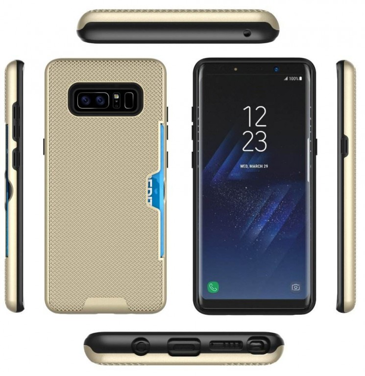 Case maker renders reveal galaxy note 8 design dual for Galaxy maker