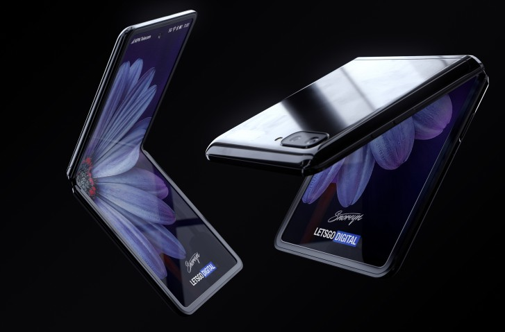 New foldable phone folds into 'Z' shape — Samsung Galaxy Z