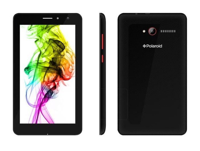 The Jet C7 tablet integrates a 7-inch display. (Source: Polaroid)