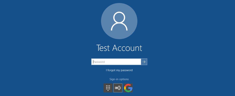 Windows 10 will soon allow logins via a Google Account