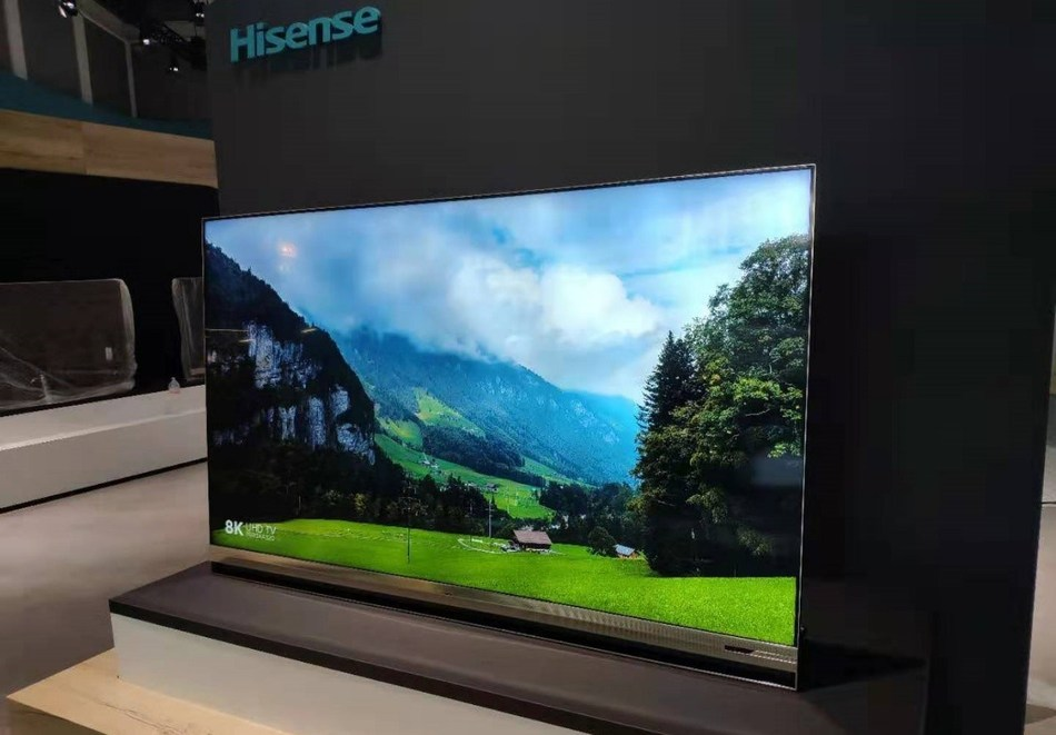 Hisense showcases its new QLED XD and Sonic Laser TVs