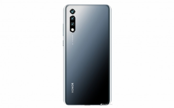Details of the Honor 20 surface - 48 MP, triple rear cameras