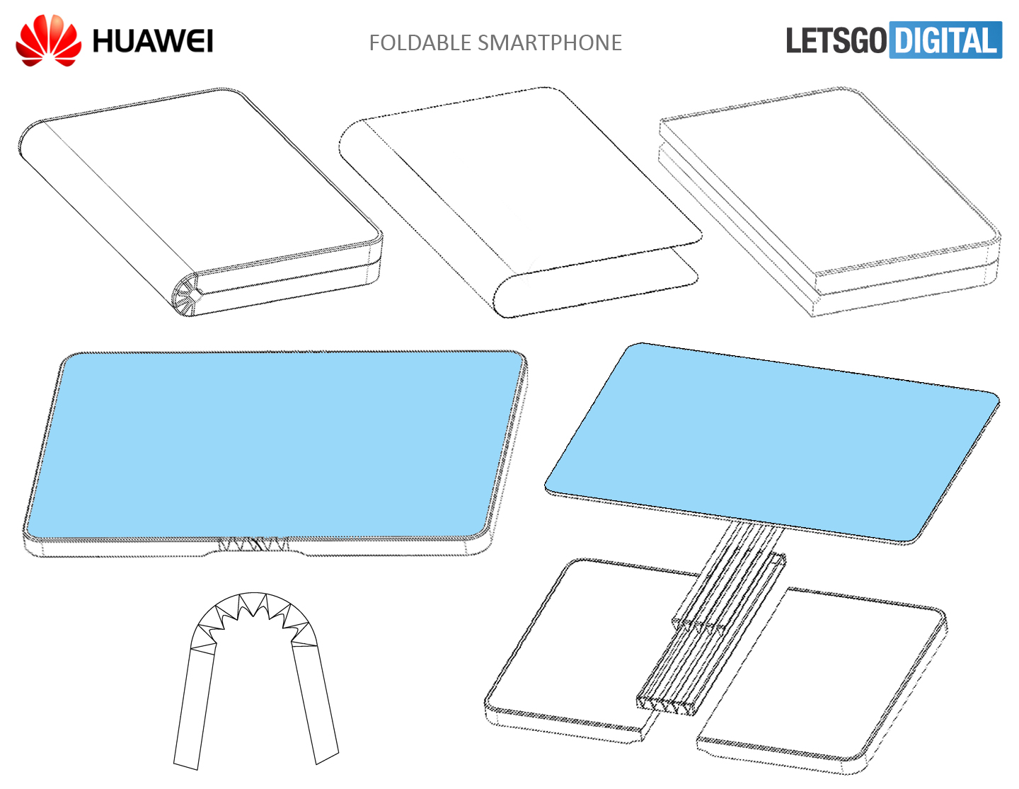 Patent For Huawei Foldable Smartphone Discovered