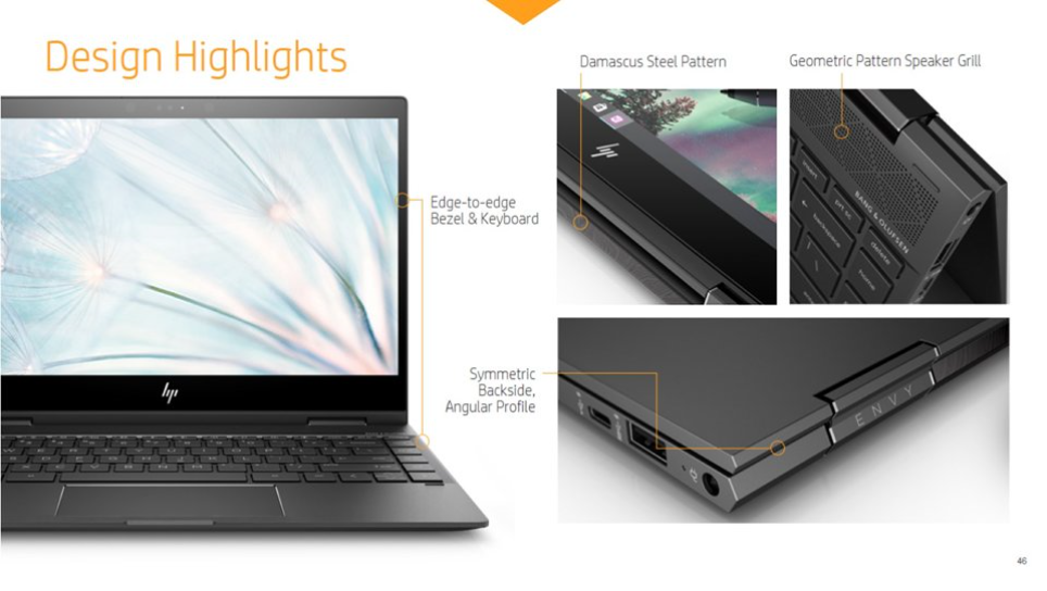 New HP Envy and Envy x360 refreshes get inspired by Damascus