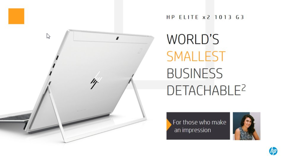 HP intros the Elite x2 1013 G3: a Surface Pro clone for