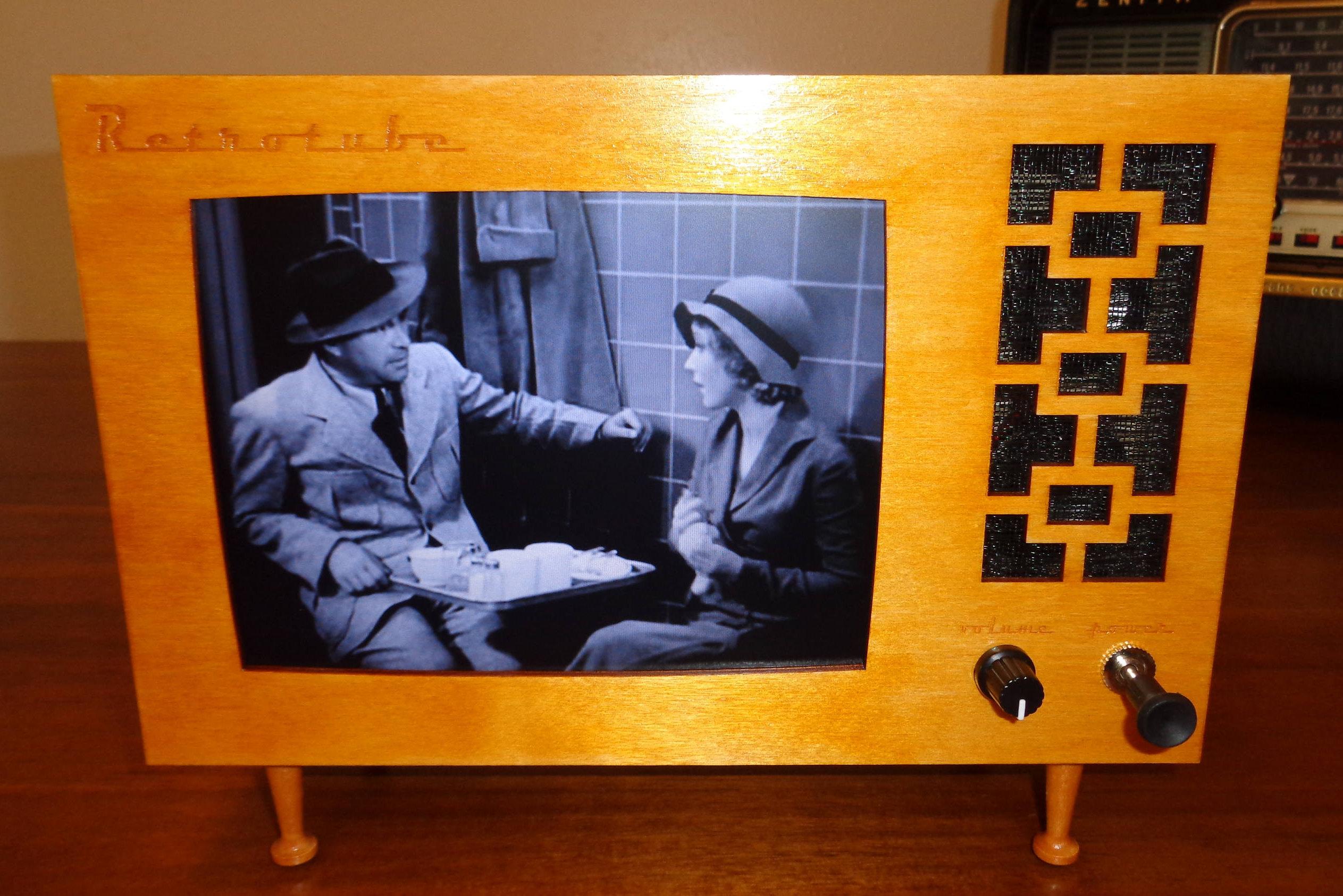 Retrotube Puts Your Raspberry Pi Inside A 1950s Tv