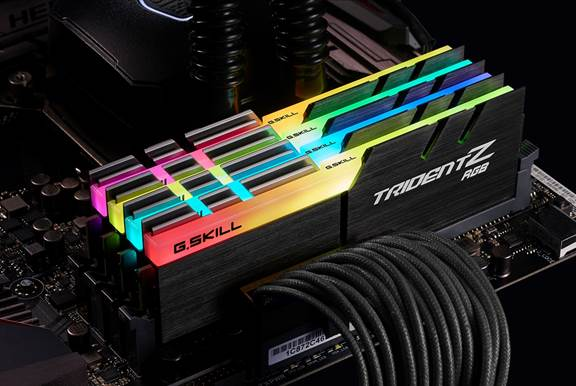 G Skill Unveils Trident Z Ddr4 Ram With Rgb Lighting