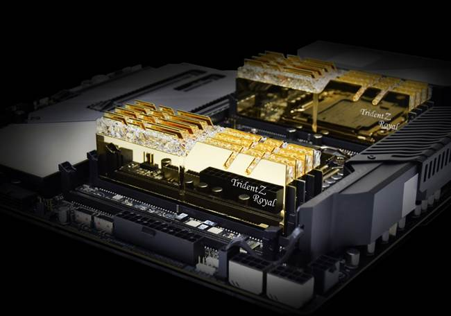 G SKILL announces new Trident Z Royal DDR4 RAM kits clocked