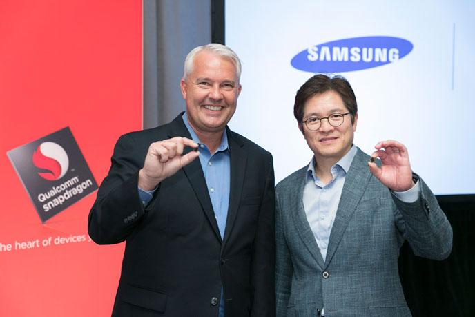 Qualcomm and Samsung's collaborated to produce the Snapdragon 835, which should be out in 2017. (Source: Qualcomm)