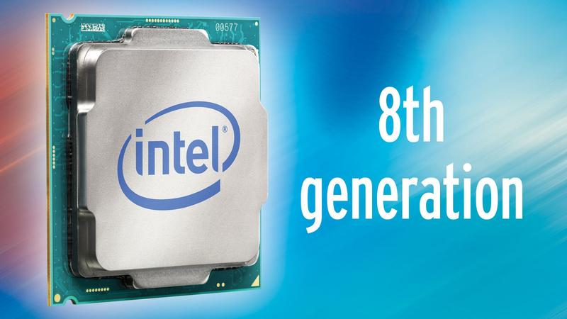 Intel Introduces it's 8th-gen CPUs