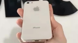 One of the first leaks of the iPhone SE (2018) featured a glass back. (Source: High Snobiety)