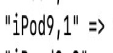 The part of the iOS 12.2 code that may refer to a new iPod Touch. (Source: Twitter)