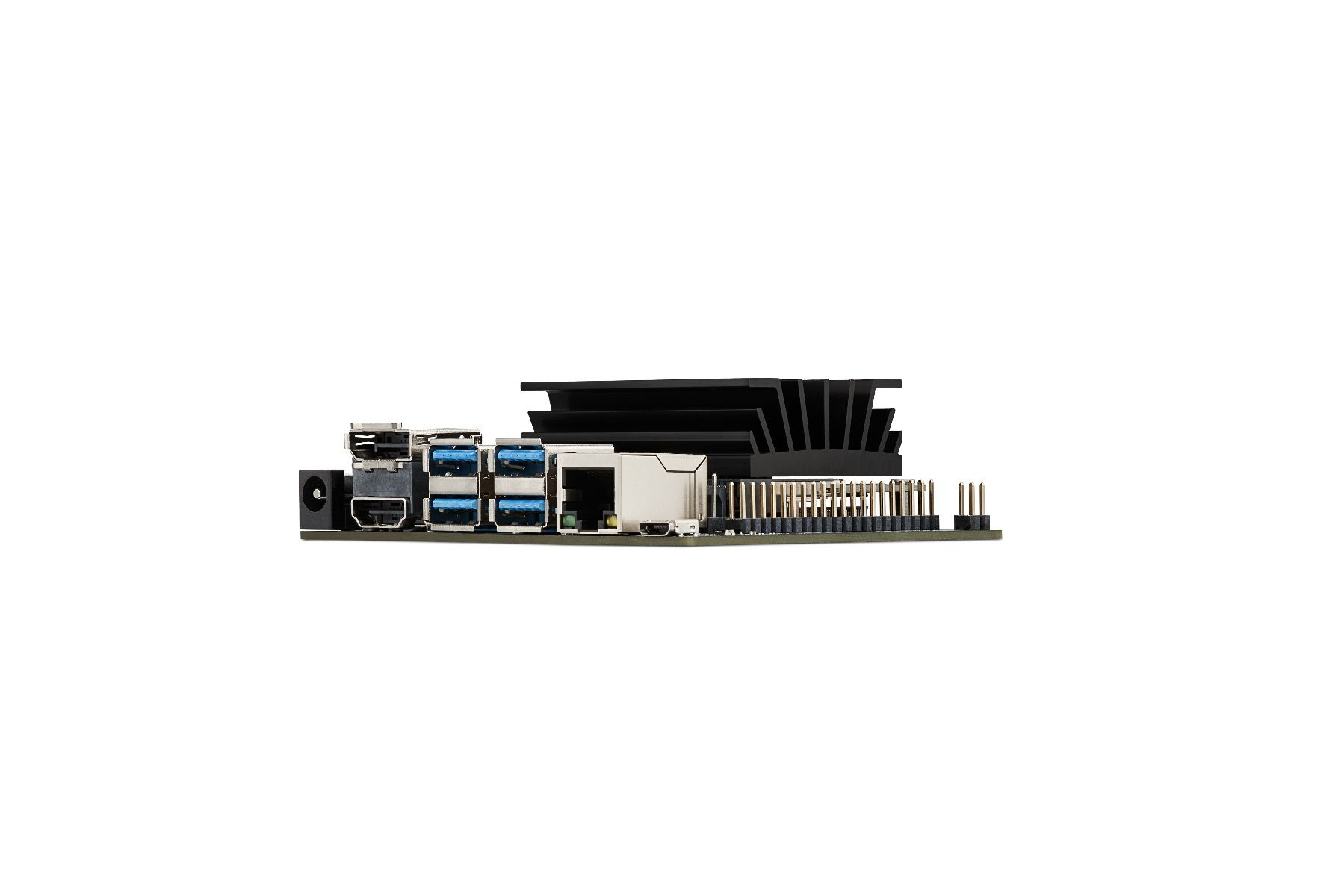 The NVIDIA Jetson Nano Developer Kit, a powerful SBC smaller