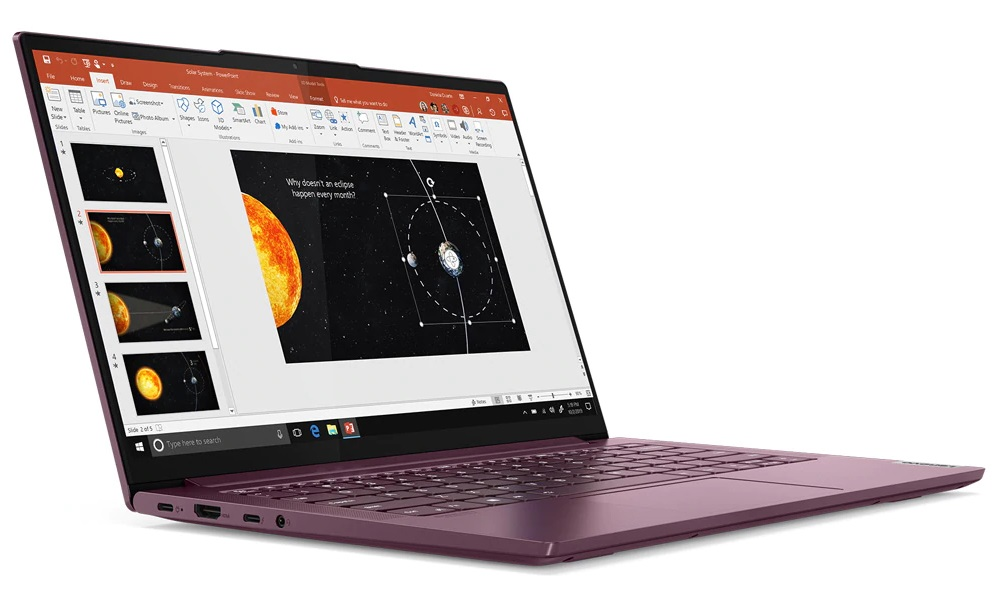 Upcoming Lenovo Yoga Slim 7 With Amd Ryzen 7 4800u Returns To Fire Strike And Cranks Out An Even Better Physics Score That Finishes Off The Intel Core I7 10750h Notebookcheck Net News
