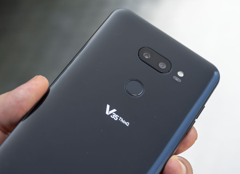 The LG V35 ThinQ is now receiving the Android Pie update, LG
