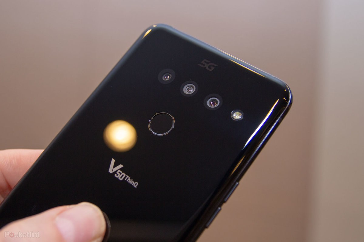 LG V50 ThinQ 5G rear camera