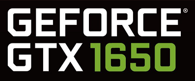 Logo for the GeForce GTX 1650. (Source: Twitter/Andreas Schilling)