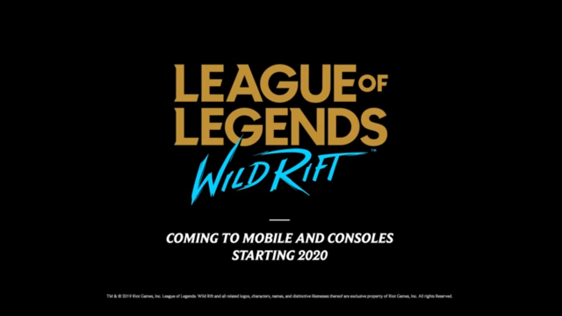 League Of Legends Is Coming To Mobile And Console Notebookcheck Net News