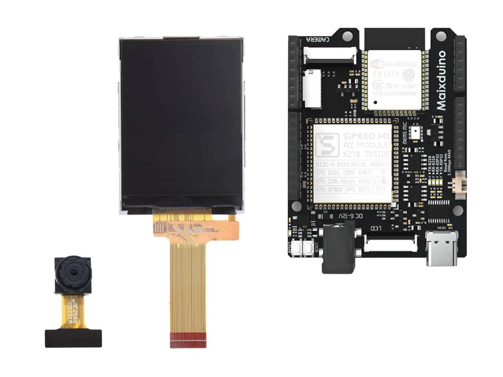 Maixduino: A sub-US$25 Arduino Uno-sized single board