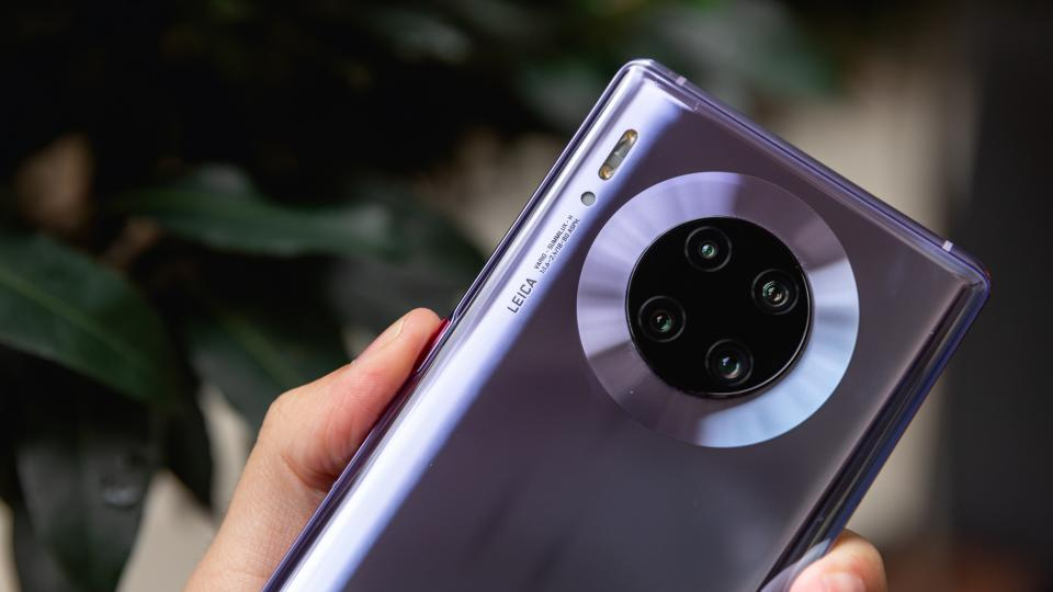 Is this the HUAWEI P40 Pro caught in the wild?