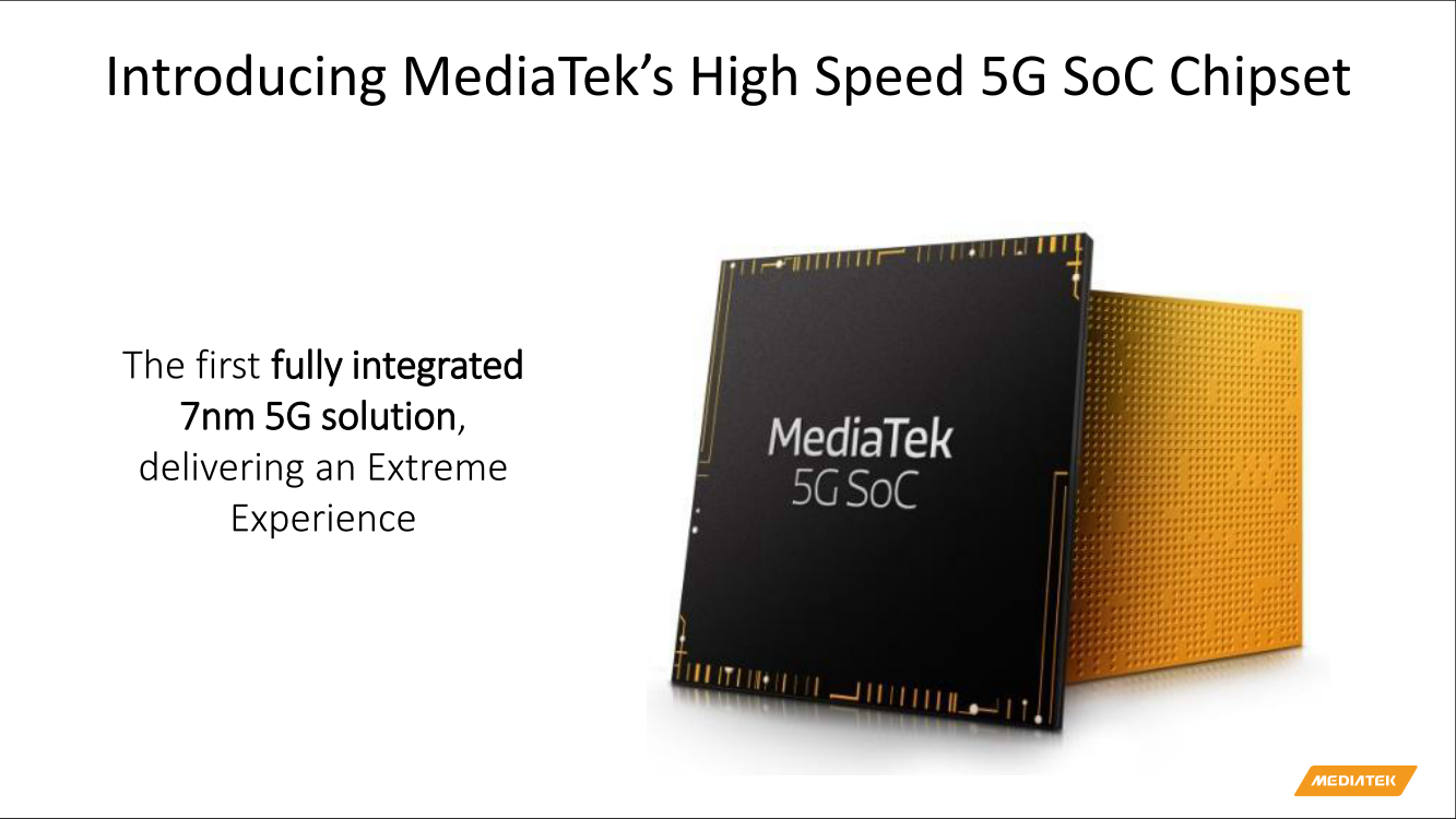 MediaTek aims to take on Qualcomm with new 5G chip