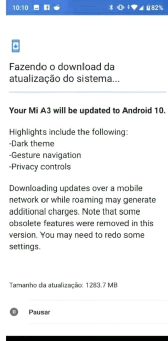 Supposed Android 10 screenshot for the Mi A3 is actually just a doctored Mi A2 one.