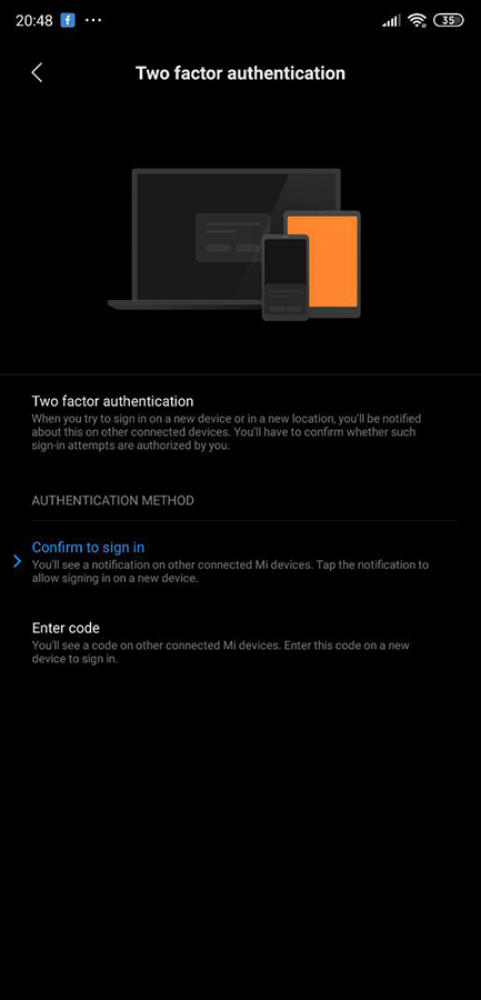 MIUI introduces 2-factor authentication for Xiaomi user