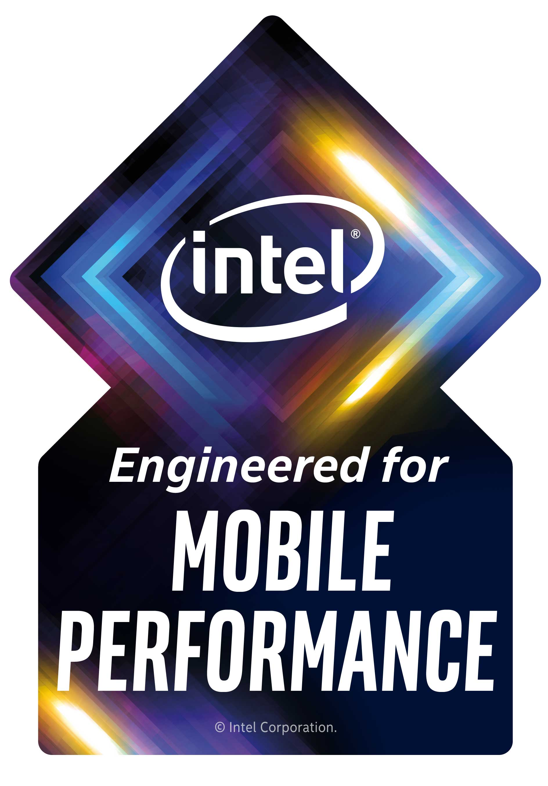 This will be the new 10th gen Intel Core sticker on the next
