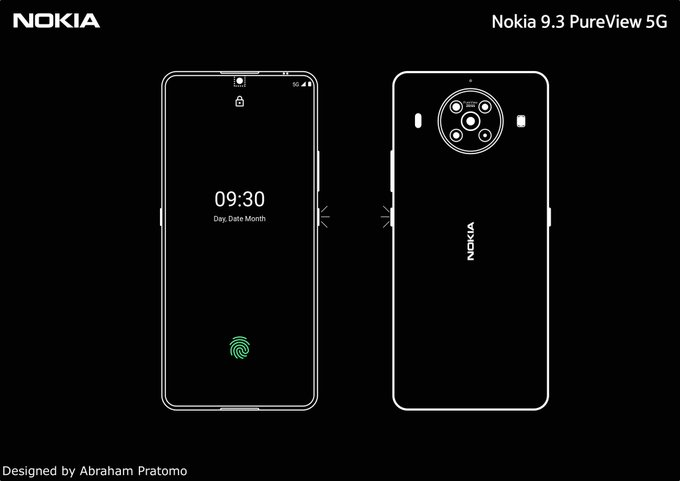 Nokia 9.3 tipped to be a fairly compact smartphone as launch draws closer - Notebookcheck.net