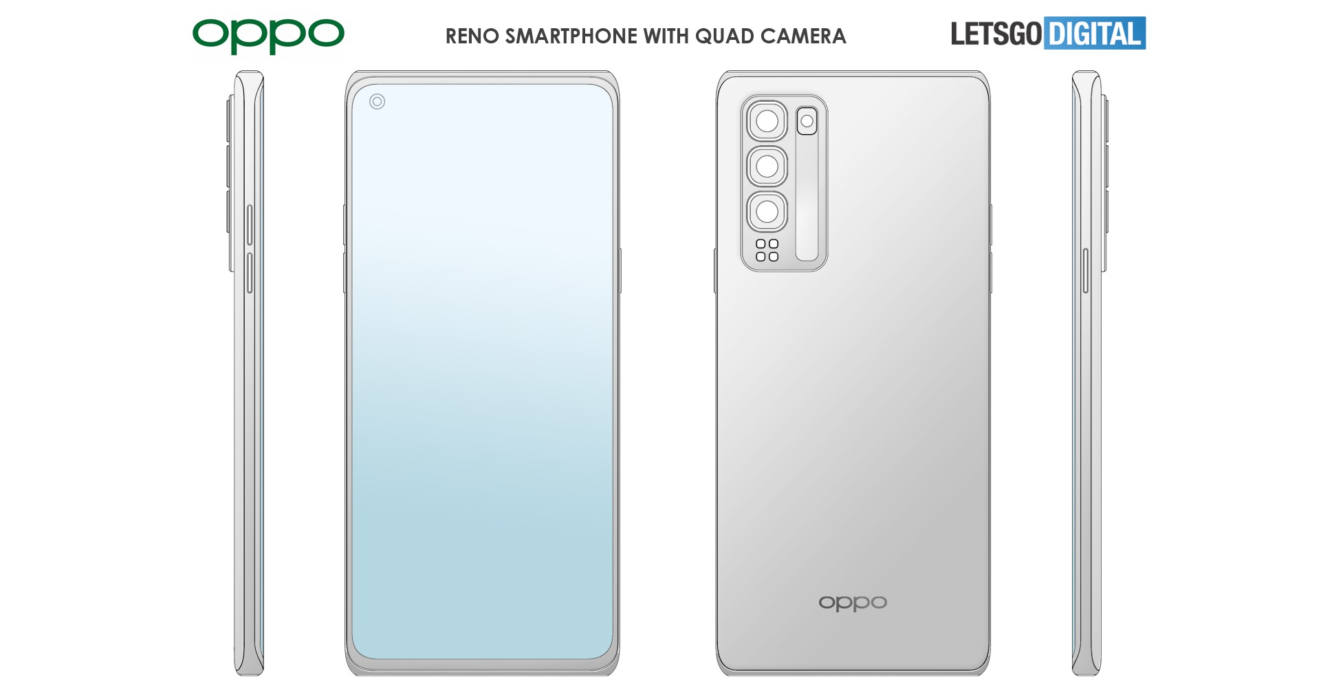 OPPO's latest patent might reveal its next-gen smartphone design language ahead of time - Notebookcheck.net