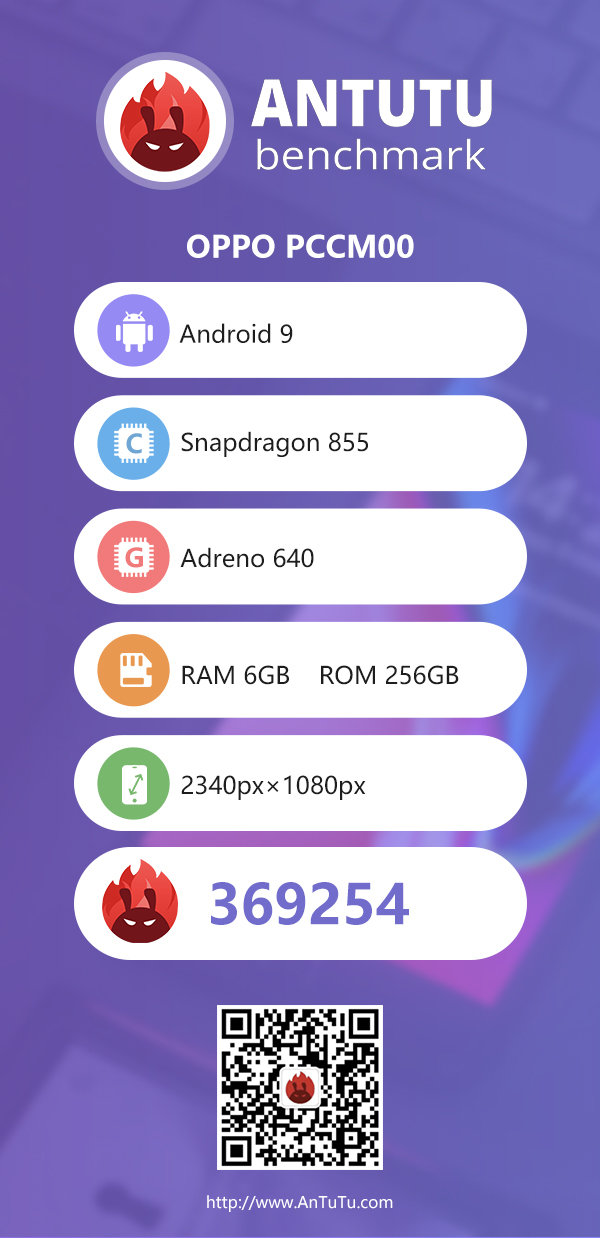 The full AnTuTu benchmark report for the OPPO Reno 10X Zoom Edition. (Source: AnTuTu)