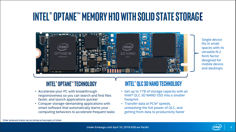 Intel's Latest Optane Module Combines Cache and SSD in One