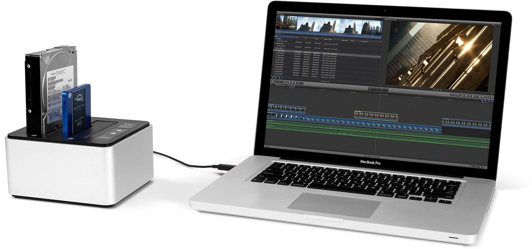 OWC announces USB Type-C Drive Dock docking station