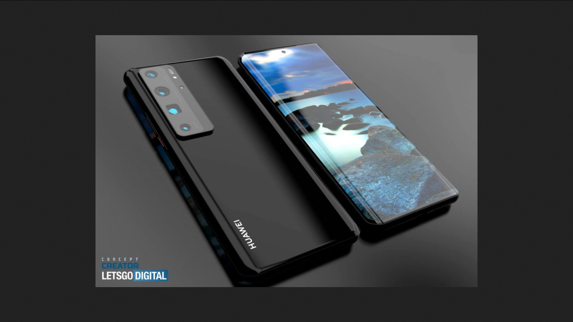 The Huawei P50's rear panel allegedly surfaces in a new leak - Notebookcheck.net