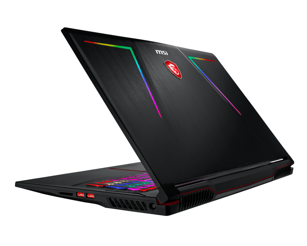 MSI unveils high-end GT75 Titan 8RG and GE73 Raider RGB ... Laptop Back Png