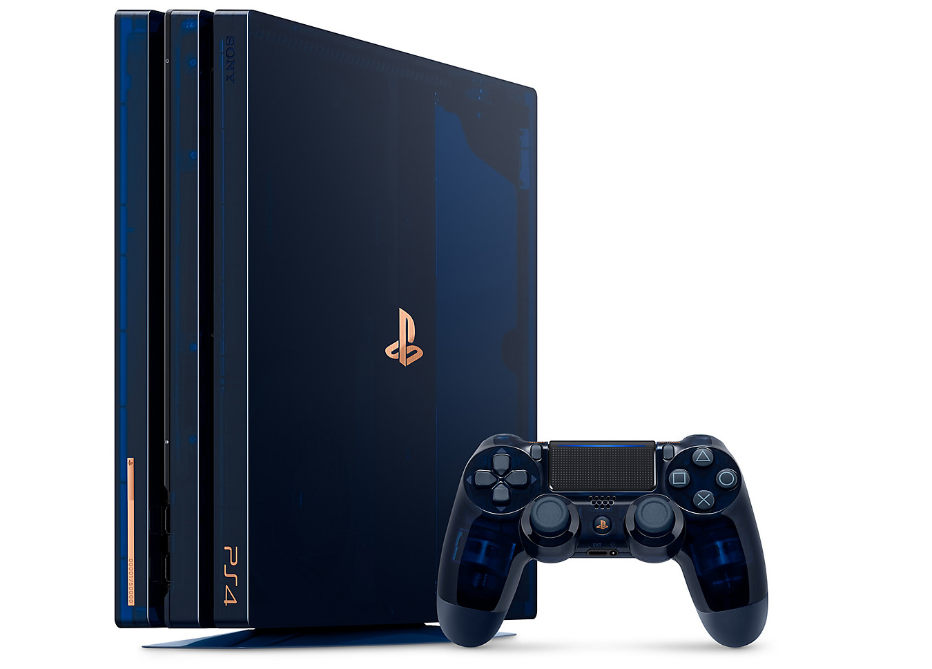 There will only be 50,000 LE PS4 Pro models on sale so fans will have to be quick about the orders