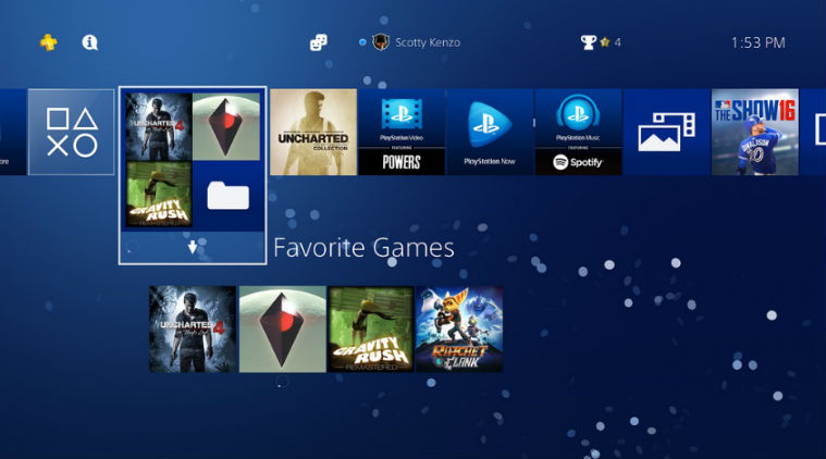 First glimpse at potential PlayStation 5 user interface shows similarity with PS4's UI - Notebookcheck.net