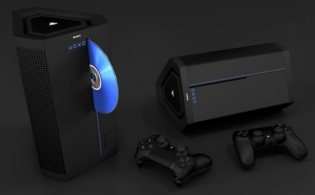 These Latest Playstation 5 Fan Made Concept Renders Will Tide You Over Until The Official Ps5 Console Is Revealed Notebookcheck Net News