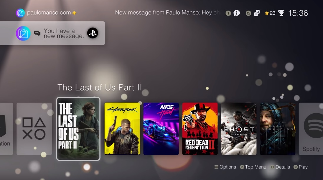 Supposed PlayStation 5 user interface details leaked by disgruntled game  developer and fan offers up smooth UI concept integrating official PS5 boot  screen - NotebookCheck.net News