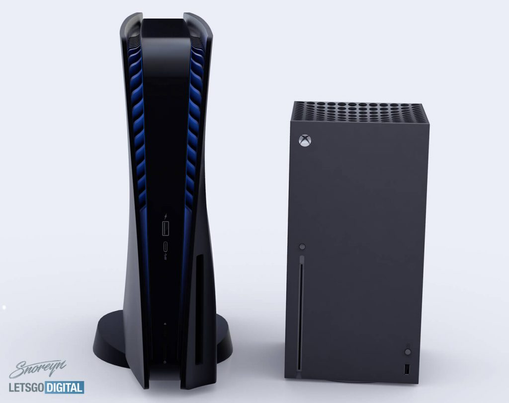 Ps5 Size Comparison Playstation 5 Towers Over The Xbox Series X And Even Looks Down On The King Sized Ps3 Notebookcheck Net News