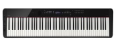 Casio's slimmest-ever digital grand piano is a fully up-to-date piece of audio hardware. (Source: Casio)