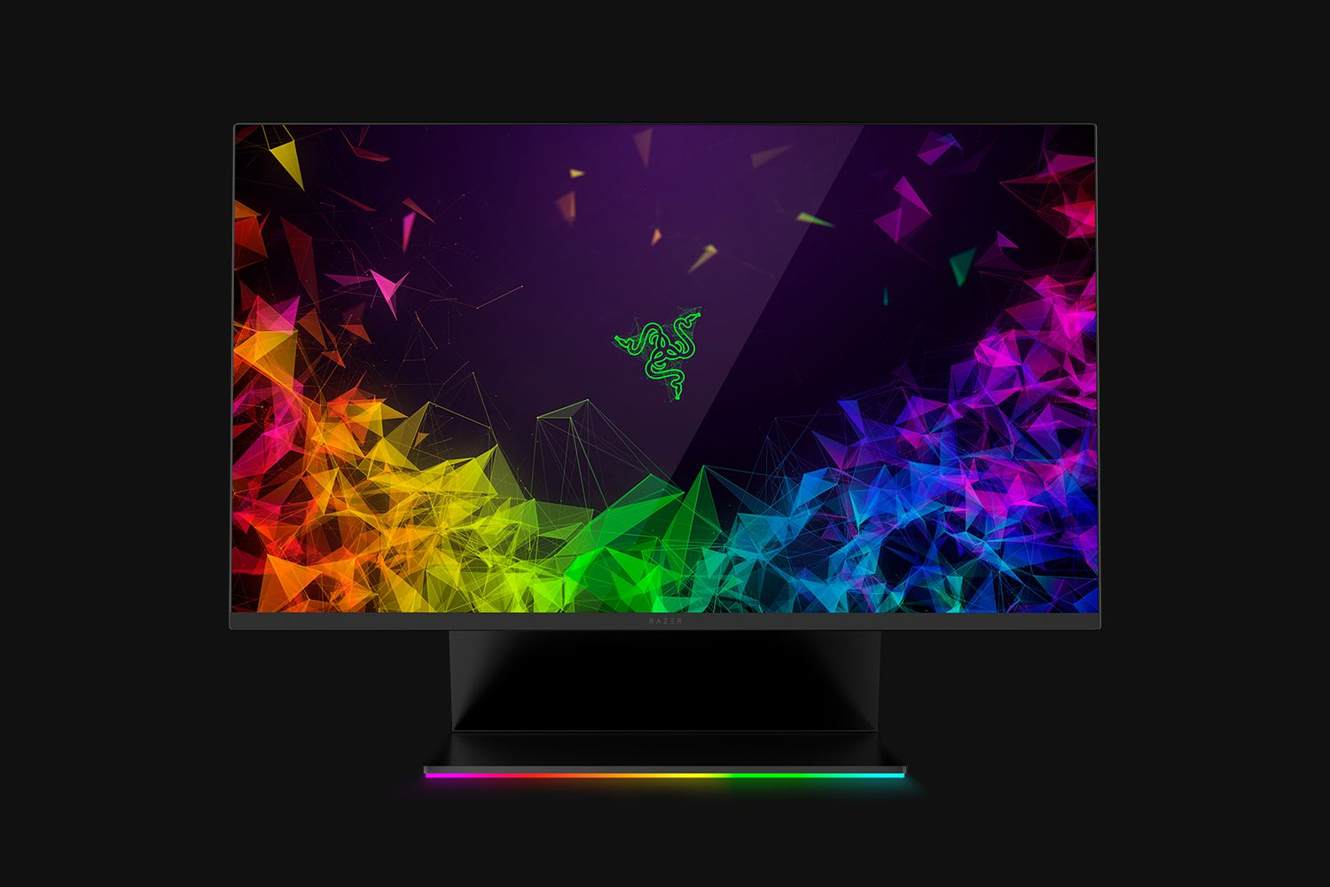 Razer's Colorful Raptor 27 Monitor Has a Flip-Top Head