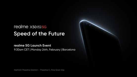 Realme X50 Pro 5G will support 65W SuperDart fast charging