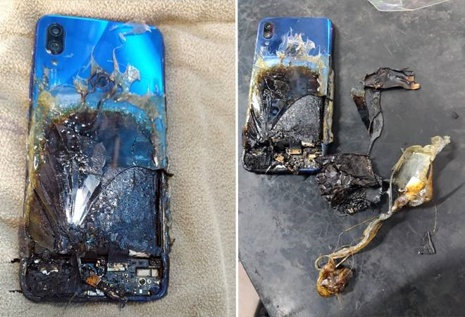 The affected Redmi Note 7S (Image source: Business Today/Ishwar Chavhan)