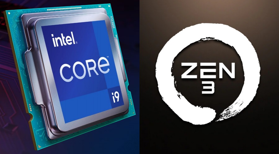 Rocket Lake S Vs Zen 3 Geekbench Single Core Charts Headed By Four Ryzen 5000 Parts But The Intel Core I9 11900k And I7 11700k Should Rain On That Parade Notebookcheck Net News