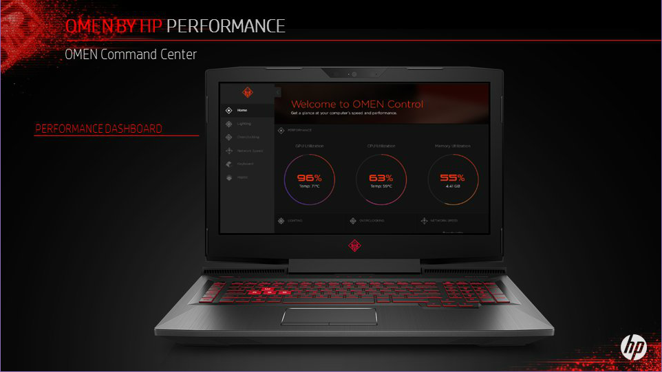 HP refreshes Omen 15 and Omen 17 with Kaby Lake and AMD FX