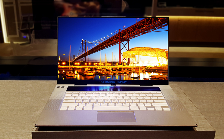 Samsung Reveals World S First 15 Inch 4k Oled Notebook Display Notebookcheck Net News
