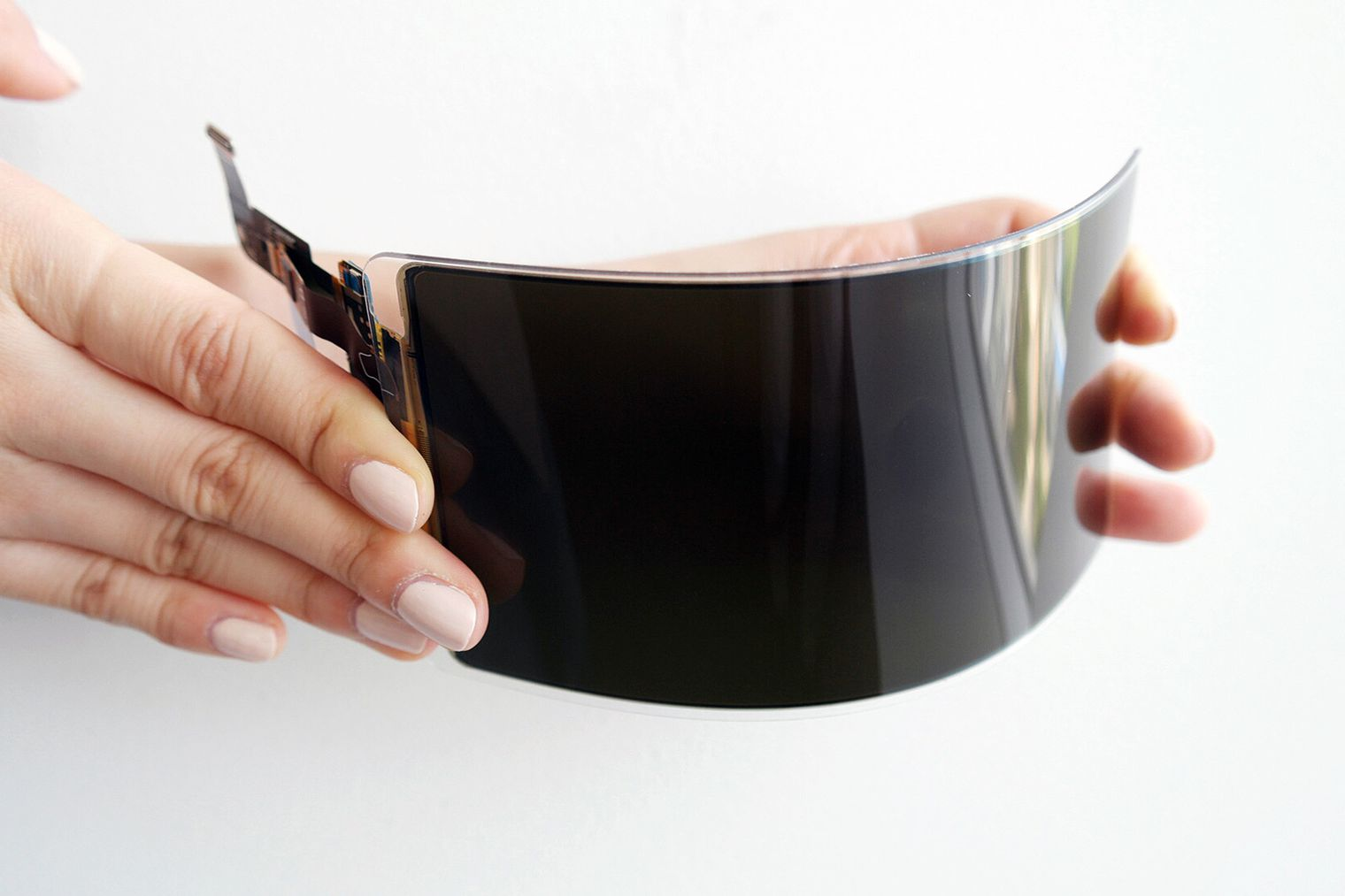 Samsung has created an unbreakable OLED display